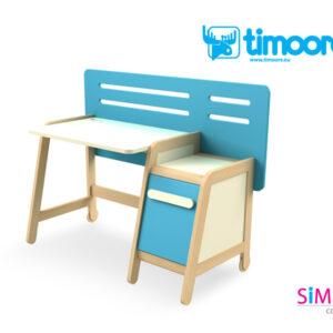 SIMPLE - biurko z kontenerkiem