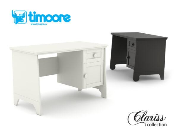 CLARISS - biurko z kontenerkiem